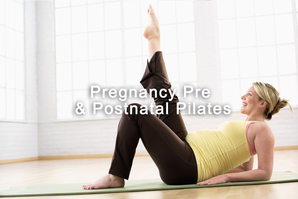 Pregnancy Pre & Postnatal Pilates