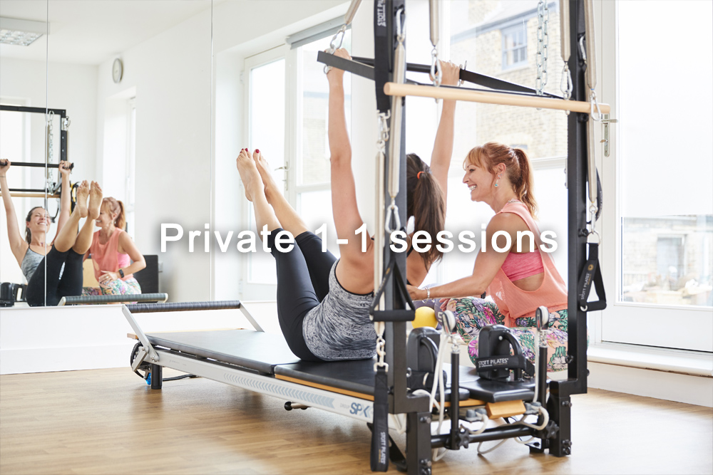 Private 1-1 sessions