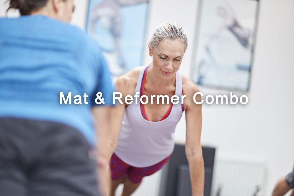 Mat and Reformer Combo